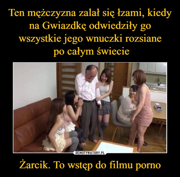 Żarcik. To wstęp do filmu porno –