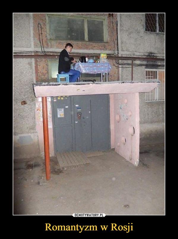 Romantyzm w Rosji –