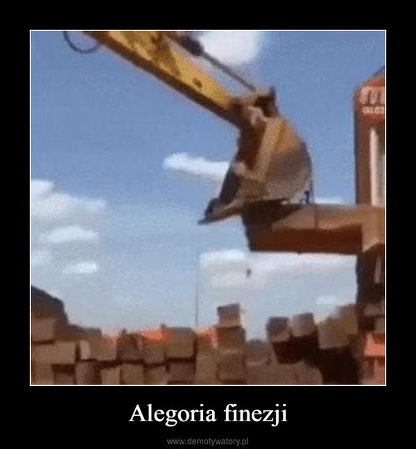 Alegoria finezji –