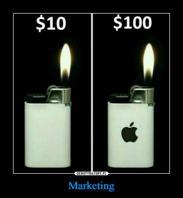 Marketing –  $10 $100