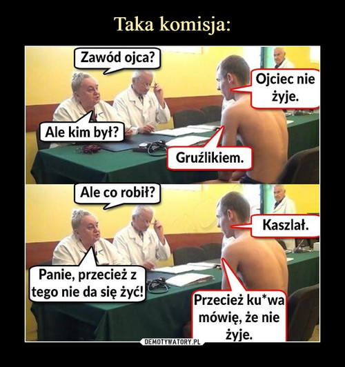 Taka komisja: