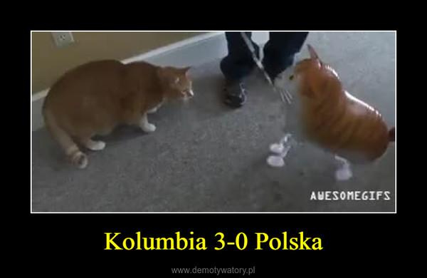 Kolumbia 3-0 Polska –