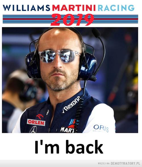 Robert Kubica 2019