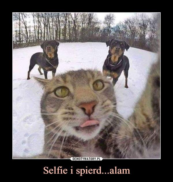 Selfie i spierd...alam –