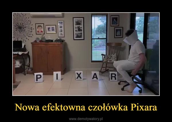 Nowa efektowna czołówka Pixara –