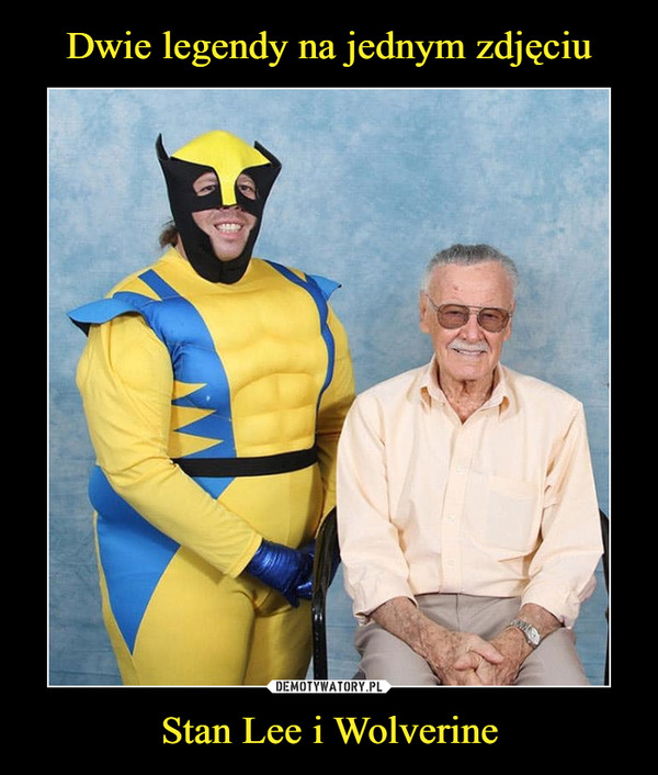 Stan Lee i Wolverine –
