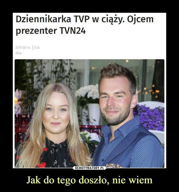 Jak do tego doszło, nie wiem –  Dziennikarka TVP w ciąży. Ojcem prezenter TVN24