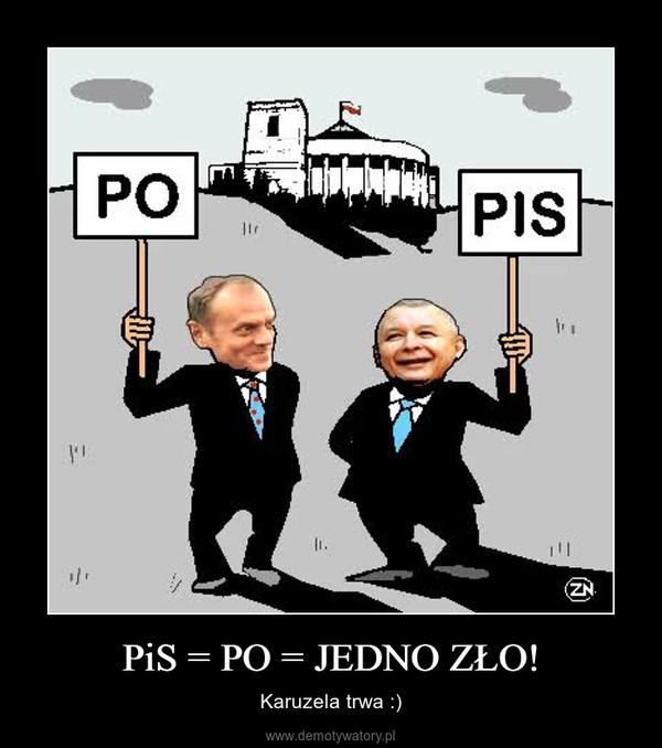 PiS = PO = JEDNO ZŁO! – Karuzela trwa :)