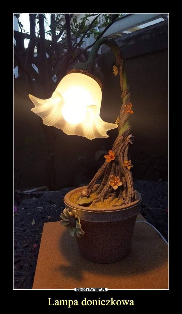 Lampa doniczkowa –