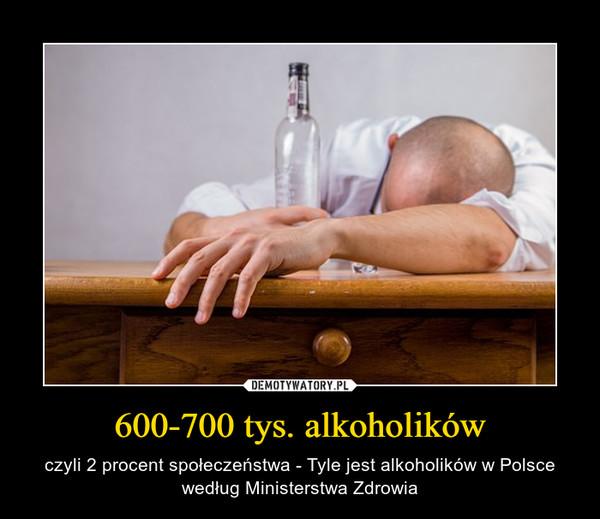 600-700 tys. alkoholików – czyli 2 procent społeczeństwa - Tyle jest alkoholików w Polsce według Ministerstwa Zdrowia