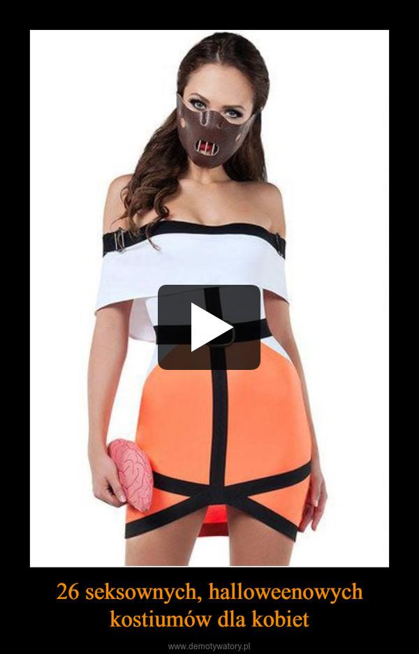 26 seksownych, halloweenowych kostiumów dla kobiet –