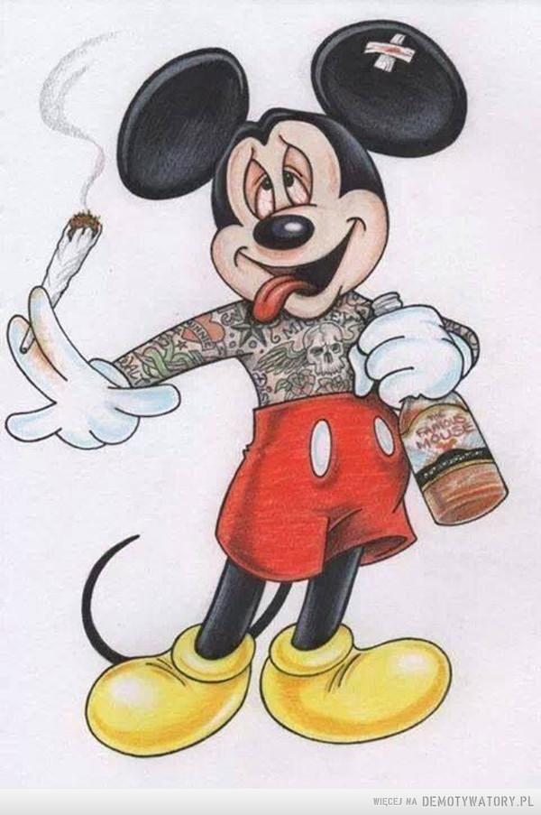 mysz miki jaré sé cygaré?! – ne no, ale můžete vidět totální utopii a czilere