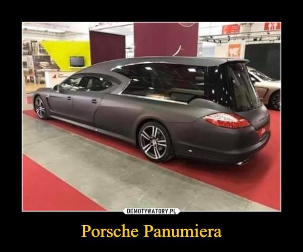 Porsche Panumiera –