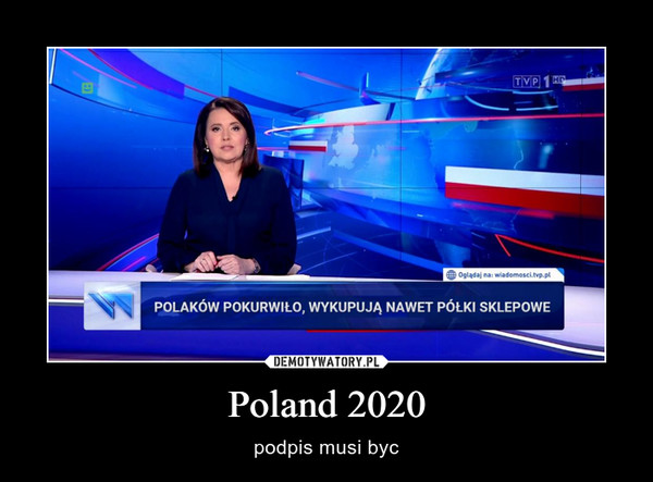Poland 2020 – podpis musi byc