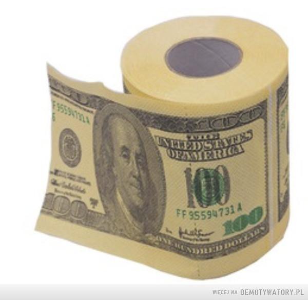 szczyt higieny? – włożyć papier toaletowy do zmywarki!