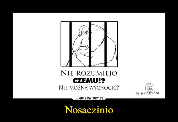 Nosaczinio –