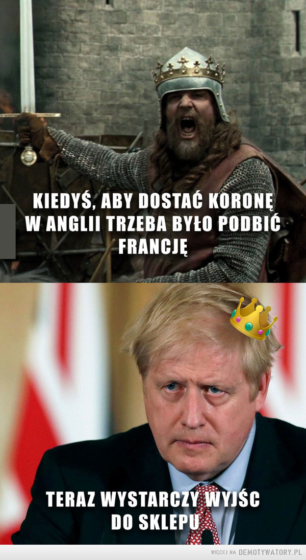 Król Anglii –