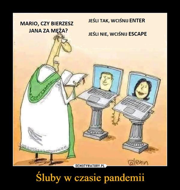 Śluby w czasie pandemii –