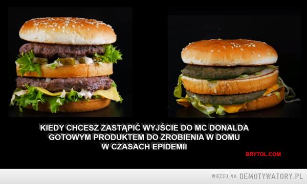 Mój pierwszy Big Mac –