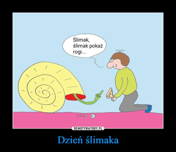Dzień ślimaka –
