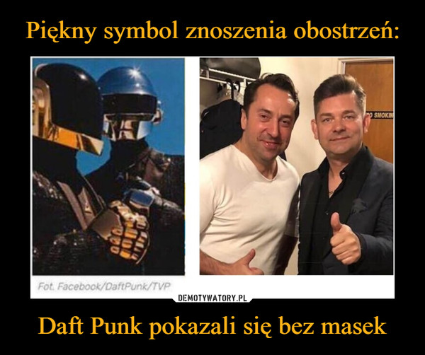 Daft Punk pokazali się bez masek –