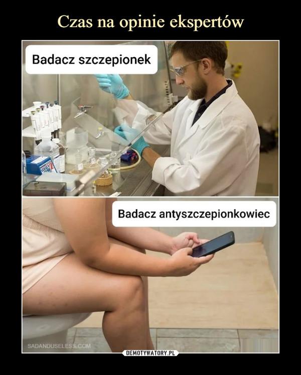–  Badacz szczepionekBadacz antyszczepionkowiec