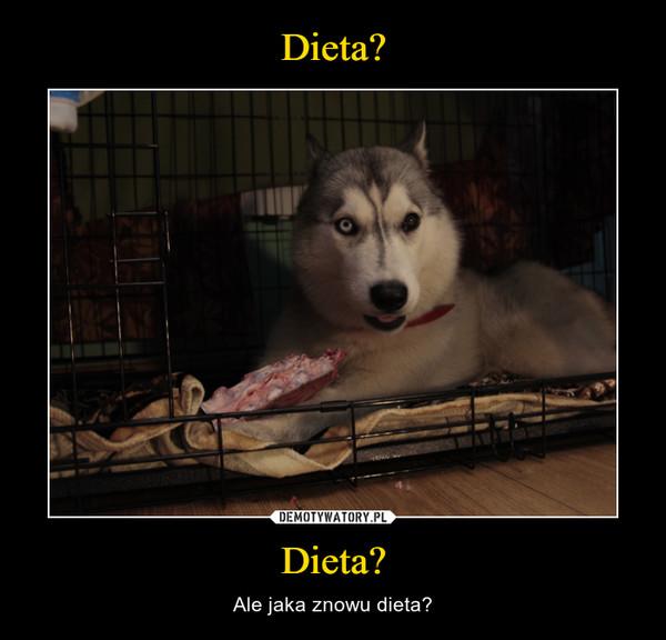 Dieta? – Ale jaka znowu dieta?