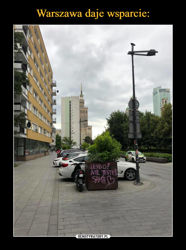 Warszawa daje wsparcie:
