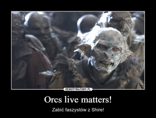 Orcs live matters!