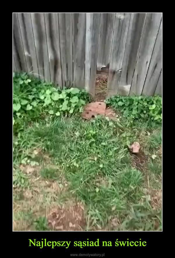 Najlepszy sąsiad na świecie –
