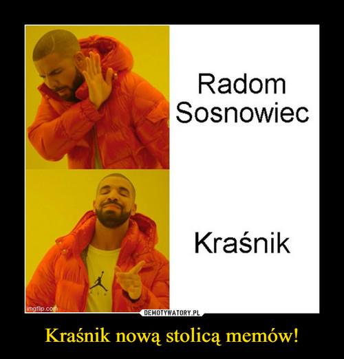Kraśnik nową stolicą memów!