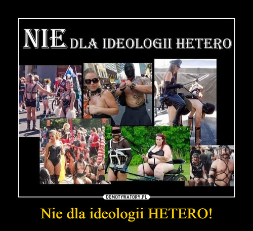 Nie dla ideologii HETERO!