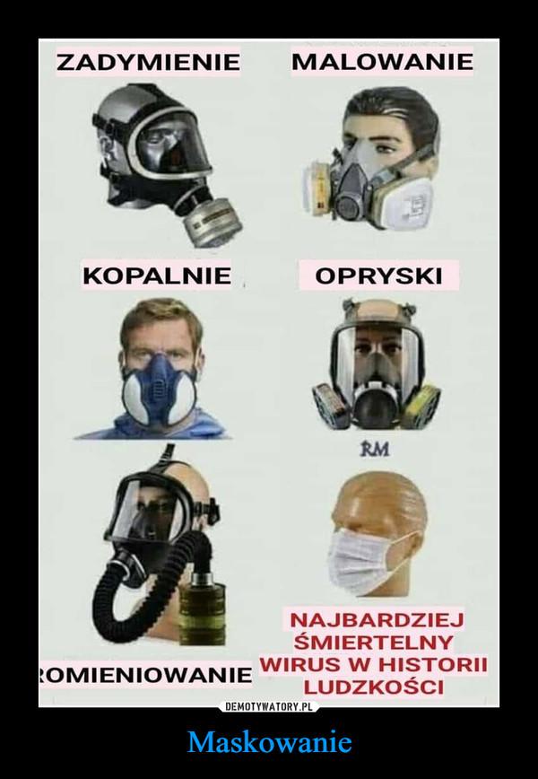 Maskowanie –