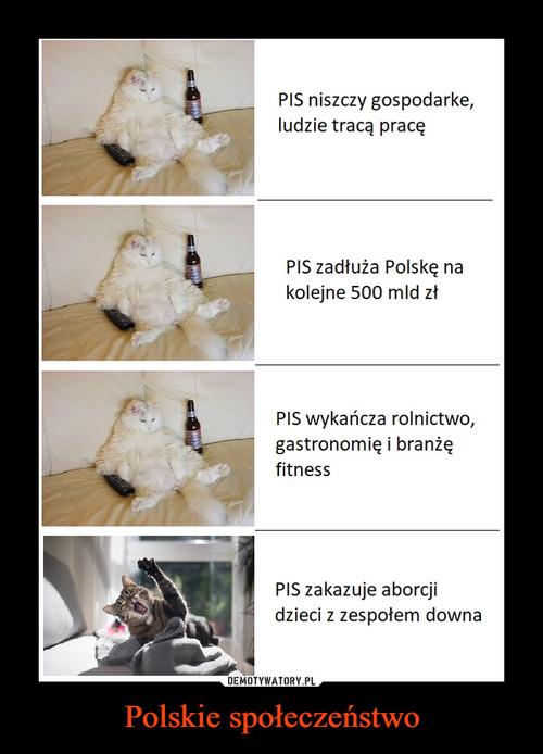 Polskie społeczeństwo