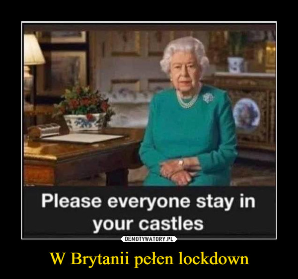 W Brytanii pełen lockdown –