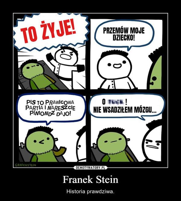 Franek Stein – Historia prawdziwa.
