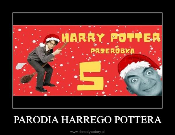 PARODIA HARREGO POTTERA –