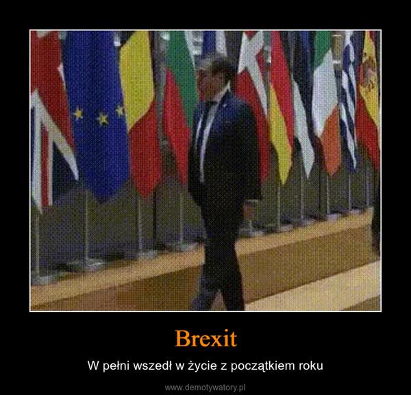 Brexit – W pełni wszedł w życie z początkiem roku