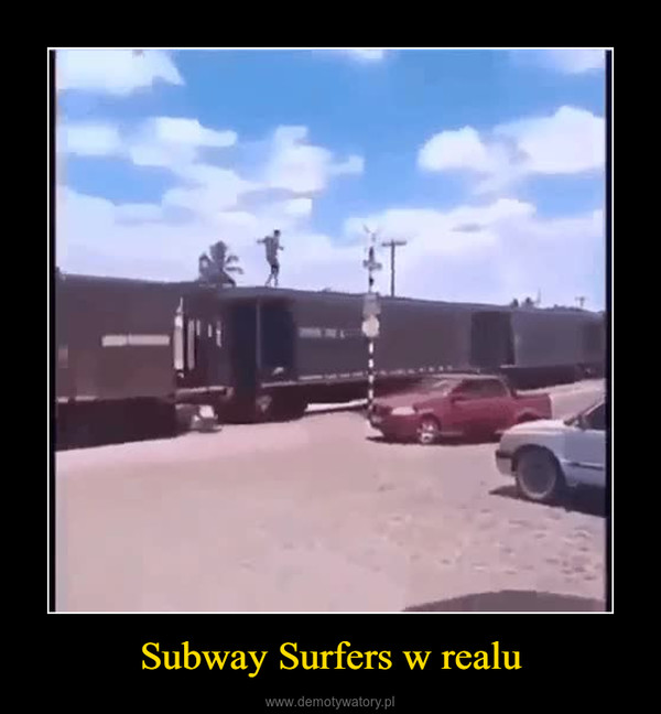 Subway Surfers w realu –