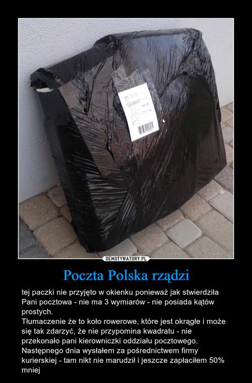 Poczta Polska rządzi