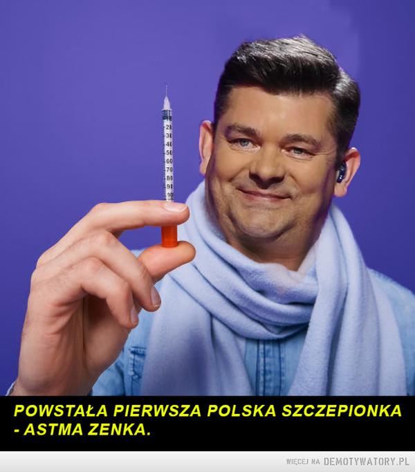 Pierwsza polska szczepionka. –