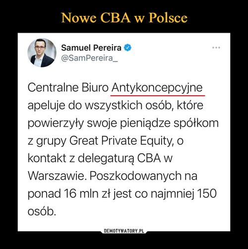 Nowe CBA w Polsce