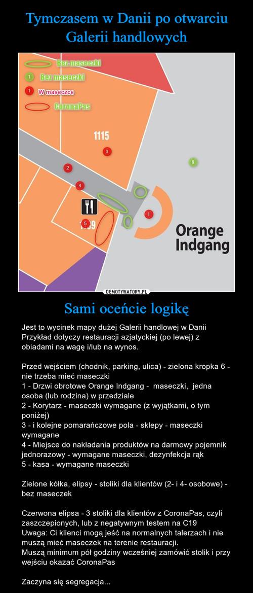Tymczasem w Danii po otwarciu Galerii handlowych Sami oceńcie logikę