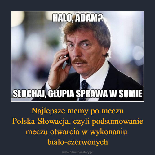 Najlepsze memy po meczu Polska-Słowacja, czyli podsumowanie meczu otwarcia w wykonaniu  biało-czerwonych