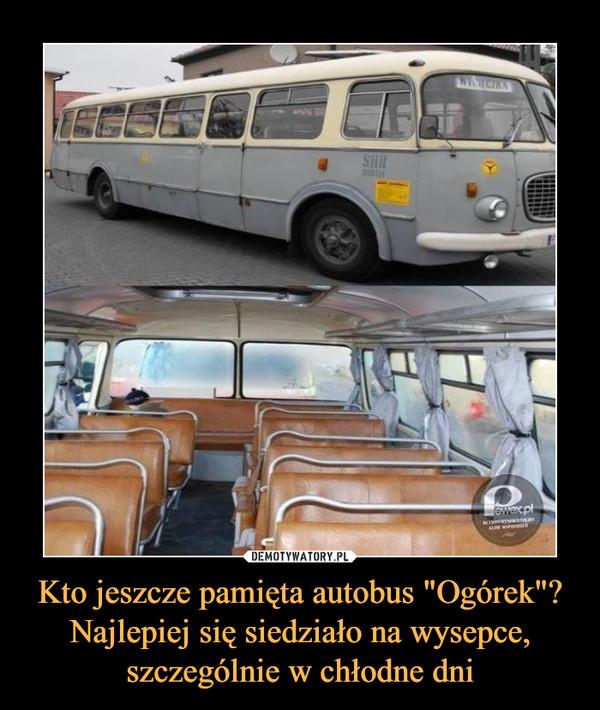 Kto jeszcze pamięta autobus
